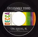 Exclusively Yours / One Little Girl [Vinyl Single 7'']