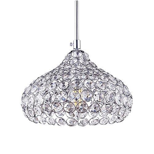Lámpara de techo LED, de cristal, moderna I Casquillo LED E14I–