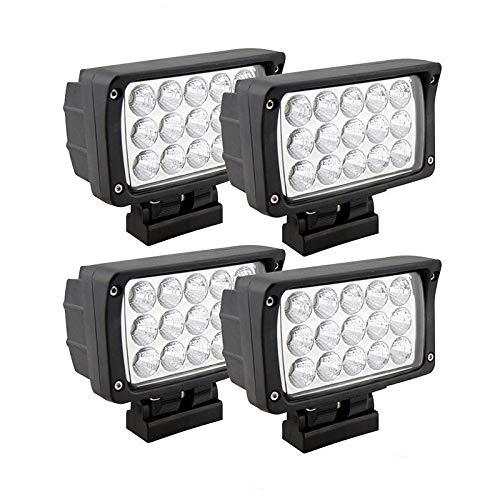 4 STÜCK LED Arbeitsscheinwerfer,45W Offroad Scheinwerfer Auto Scheinwerfer Flutlicht Spotlight,6000K