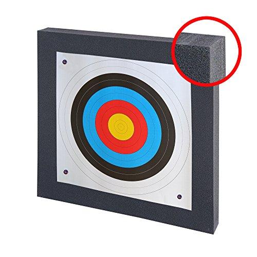 Set Zielscheibe bis 40 lbs - 60 x 60 cm mit Auflage und Scheibennägeln