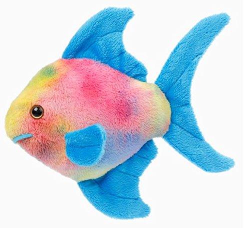 Preisvergleich Produktbild EBO 60546 - Regenbogenfisch, 16 cm, blaue Flossen