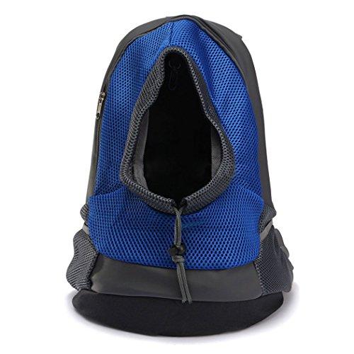 Yihya-Portatile-Pet-Carrier-Bag-Sacchetto-di-Spalle-Mesh-Bag-Piccoli-Cane-Cani-Gatti-Puppy-Allaperto-Viaggiare-Borsa-Backpack-per-Pet-testa-Out-Rosso-Size-S-353014