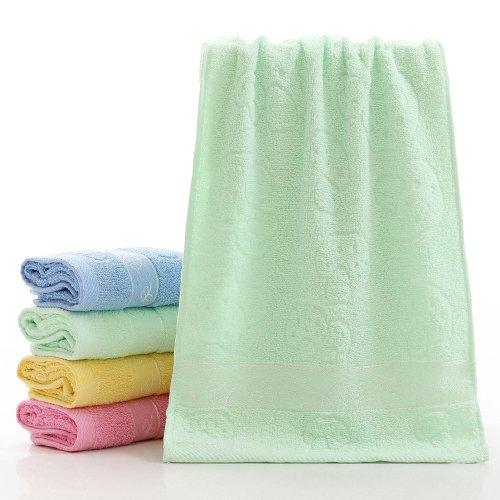ZHFC pur coton serviette adult visage mouchoir visage serviette don boîte -  cadeau 73x33cm 1, 529b38c26bca