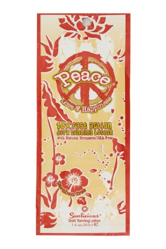 Synergy Tan Peace 10x Fast Action Dark Tanning Lotion 29.5ml