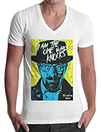 Polos Breaking Bad T-shirtShock blancs homme zllUiiG8bT