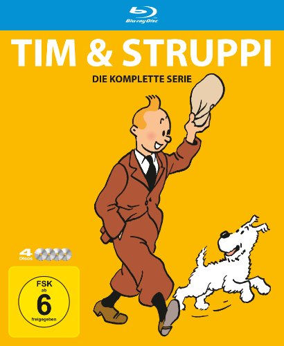 Tim & Struppi - Die komplette Serie [Blu-ray]