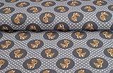 Super schöner Jersey Stoff mit dem Muster Reh Baby auf