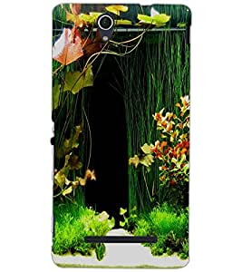 SONY XPERIA C3 FOREST Back Cover by PRINTSWAG