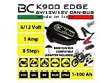 HS-Motorradteile Batterieladegerät BC K900 Edge 6 und 12 Volt