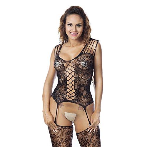 Culater® Sexy Femmes Mesh Lingerie Nuisette Robe Sous-vêtements Sleepwear Babydoll D