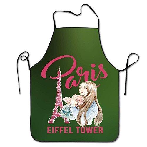 Kostüm Tower Eiffel - HTETRERW Eiffel Tower Women's Funny Creative Print Cooking Aprons