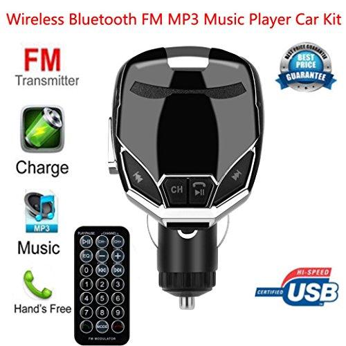 adegerät FM Transmitter Car Kit MP3-Musik-Player G7 Auto MP3 Freisprecheinrichtung FM Transmitter ()