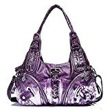 Angel Kiss - Borse a mano in pelle lavata Donna (11282Z purple)
