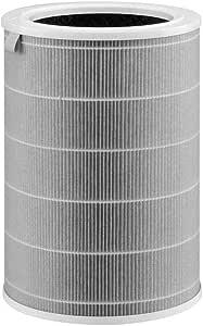 Goseare Accessori di Ricambio per cartucce di Filtro a Carbone Attivo con Filtro HEPA compatibili con Xiaomi Mijia Mi Purificatore dAria 1 2 PRO Viola