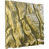 Exoterra Fond de Décoration en Relief pour Terrarium 60x60 cm pour Reptiles et Amphibiens