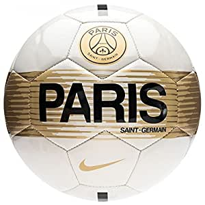 Nike SC3362-072 Ballon de Foot Mixte Adulte, Light Bone/Noir, Taille: 5