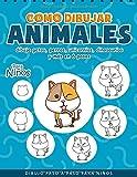 Como Dibujar Animales: Dibuja Paso a Paso para Niños - Animales Libro Infantil - Regalo para Niños