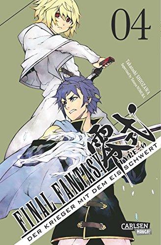 Final Fantasy - Type-0: Der Krieger mit dem Eisschwert, Band 4: Der Prequel-Manga zum Game!