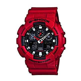 Casio G-Shock Analog-Digital Black Dial Men's Watch – GA-100B-4ADR (G344)