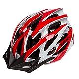 Asvert Fahrradhelm mit Sonnenblende für Männer Frauen Jugend Erwachsenen Fahrrad Sturzhelm Reithelm Road, Mountainbike Helm Erwachsenen Fahrradhelm Speziell Sicherheitsschutz Ultralight Größe:M/L
