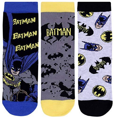 Batman -:- DC COMICS 3 x Socken 7-10 Jahre