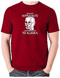 Red Dwarf - Kryten, Spin My Nipple Nuts and Send Me to Alaska - Men's T Shirt