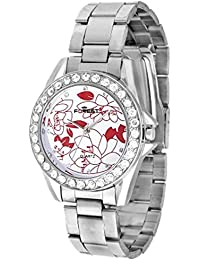 Forest Analog White Dial Women's Watch - Forest006