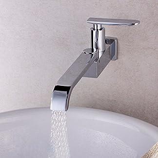 51rnhCaqScL. SS324  - SDKKY Grifo de cocina, grifo de cocina plegable, lavabos, tipo mural único grifo de agua fría