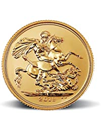 "MMTC-PAMP Sovereign 2018, aka ""Guinea"" 22K (916.7) 7.98805 gm Gold Coin"