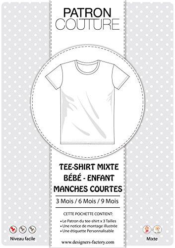 Pack 3Größen–3Monate/6mois/9mois–Tee shirt Unisex Kurzärmliges