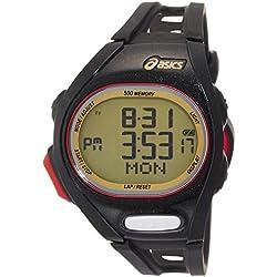 Asics CQAR0207 - Reloj digital de cuarzo unisex con correa de plástico, color multicolor