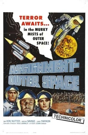 Assignment Outer Space Movie poster 28 cm x43 cm 11 INX17IN