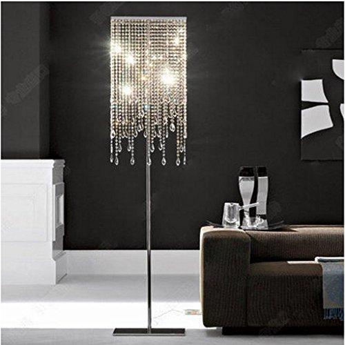 Stehlampe Europäischen Stil Kristall Stehleuchte Schlafzimmer Einfache Moderne Wohnzimmer Stehleuchte Vertikale Beleuchtung Kreative Amerikanische Licht Wohnzimmer - Europäischen Stil Wohnzimmer