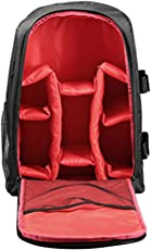 Segolike 3in1 Waterproof DSLR Camera Backpack Shoulder Bag Case for Canon Sony Red