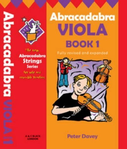 Abracadabra Viola: Bk. 1 (Abracadabra Strings) by Christopher Hussey (2002-11-29)