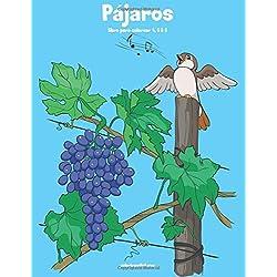 Pájaros y loros libro para colorear 4, 5 & 6