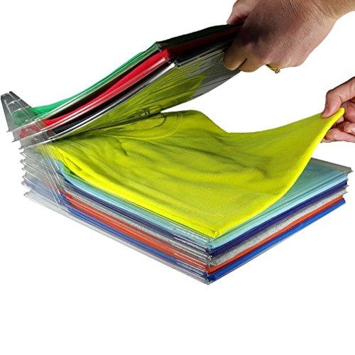 Kleidung organizizer, 10Schichten ezstax Kleidung Organizer System Closet Organizer Schublade Organizer Organisation Büro-Schreibtisch Datei Schrank (T-shirt Ihm Erwachsenen)