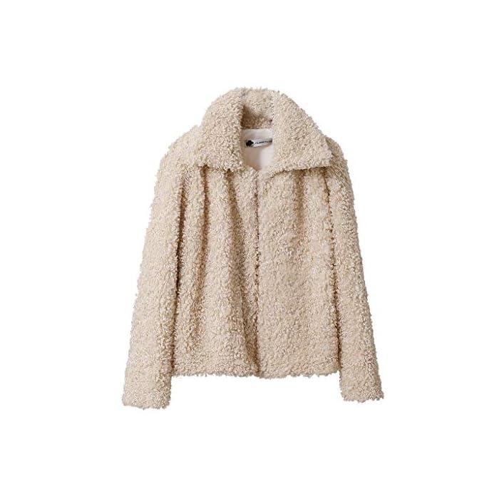 URSING Damen Mäntel Winter Warmer Hoodie Pullover lang Strickjacke Winterjacke Cardigan Fleecejacke Frauen Fleece Warme…
