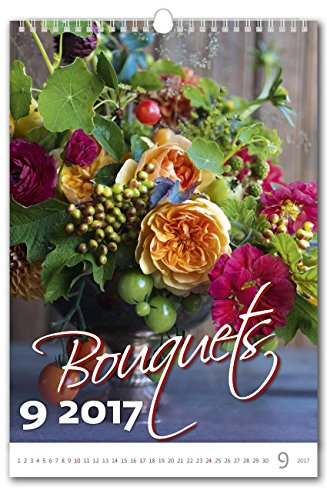 C174-17-Kalpa-Wall-Calendar-2017-Bouquets-Exclusive-Calendars-2017-24-x-33-Cm