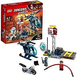 Lego Juniors Inseguimento sul Tetto di Elastigirl, 10759