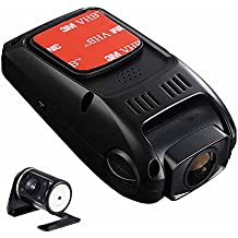 Rangetour B40S P Dual Lens Car Dash Cam Novatek 96655 Full HD 1080P 170 Wide Angle Super Capacitor Hidden Mini Car DVR Recorder With Night Vision Camera Loop Recording 720P Rear View Camera