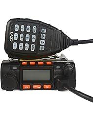 SainSonic GT-890 KT8900 Mini UV de Banda Dual Radio Coche Radio Móvil Transeiver, 136-174 / 400-480MHz 25W/20W, Negro