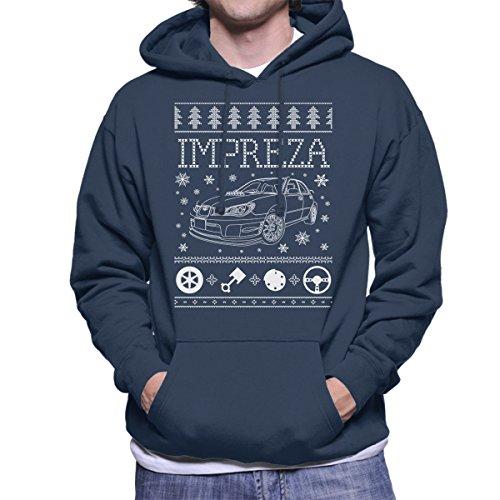 subaru-impreza-christmas-knit-mens-hooded-sweatshirt