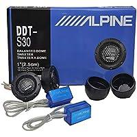 Tweeter DDT-S30 estéreo Profesional de Alta fidelidad para automóviles, Calidad de Seda de Audio de automóvil modificada para automóviles