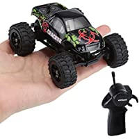 Virhuck 1:32 Scale Rc Monster Truck, 2.4GHZ 2WD Radio Remote Control Buggy, 20km/h Big Wheel Off-Road Vehicle - Compare prices on radiocontrollers.eu
