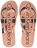 Calvin Klein Jeans Women's Tesse Jelly Open Back Slippers