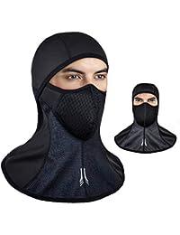 Oziral Invierno a Prueba de Viento pasamontañas esquí máscara Facial Ciclismo Deportes al Aire Libre mascarilla térmica a Prueba…