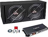Audio System Basspaket 2x30cm Subwoofer und Verstärker