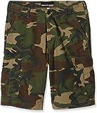 Urban Classics Herren Shorts Camouflage Cargo, Mehrfarbig (Wood camo 396), 44 (Herstellergröße: 30)