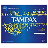 Tampax Tampons Blue Box Regular x 20